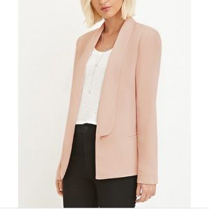 Forever 21 | Blush Pink Contemporary Blazer